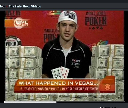 Joe Cada WSOP 2009 Champion